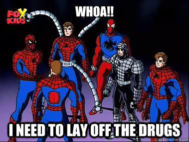 Spider-Man Drugs