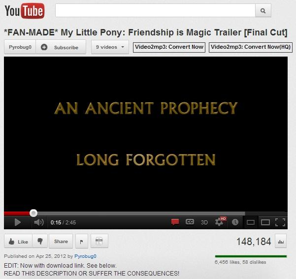 Most epic pony video ever.