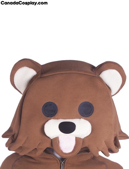 Pedobear Hoodie Face from canadacosplay.com