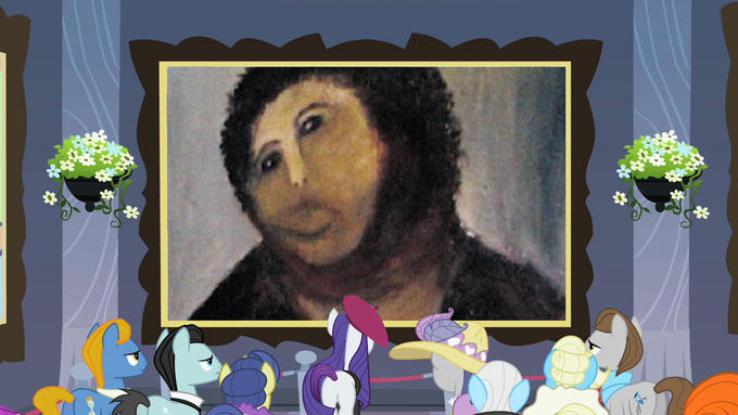 Ponies Appreciating Ecce Homo