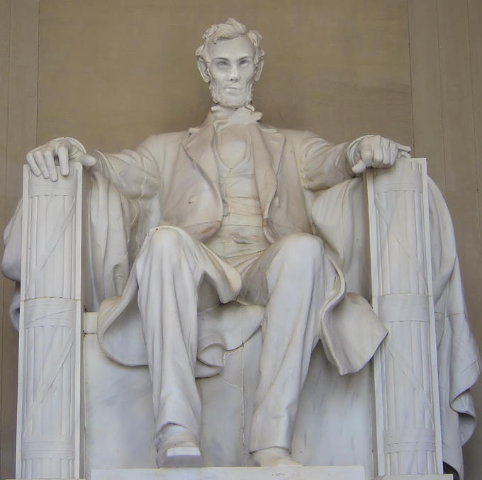 Honest Abe is just being honest....and he's not impressed