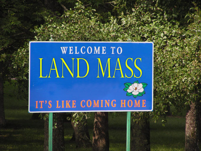 Welcome to Land Mass