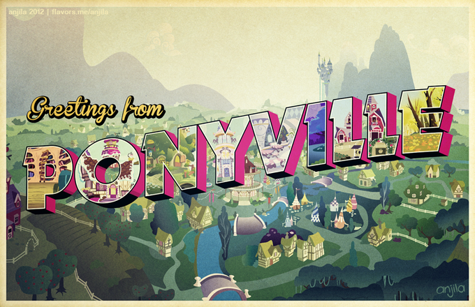 Greetings from Ponyville