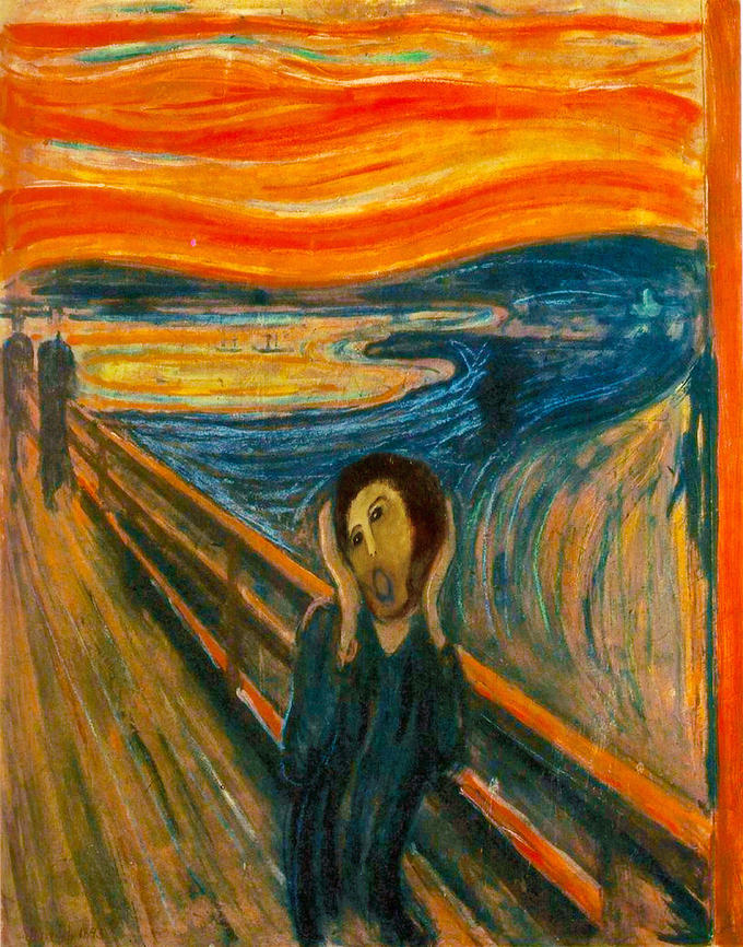 Munch's Screaming Ecce Homo