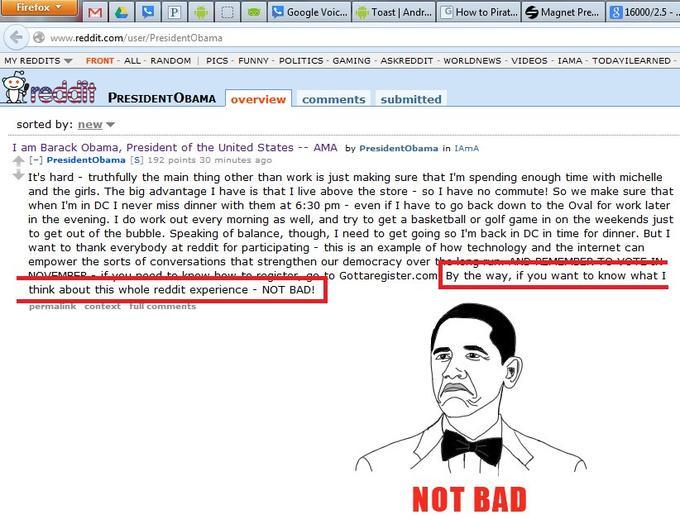 Obama Knows