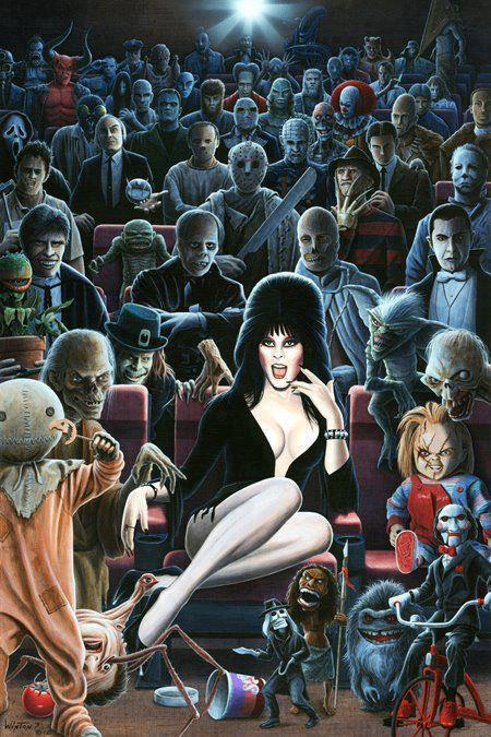 Let's All Go To The Horror Movies