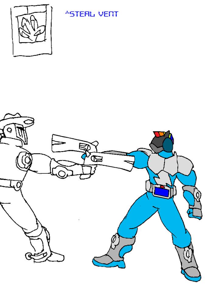 Kamen Rider Dash - Steal Vent