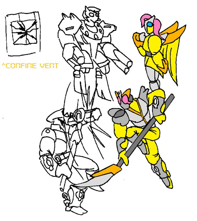 Kamen Rider Shy - Confine Vent