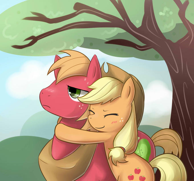 Applejack and Big Mcintosh