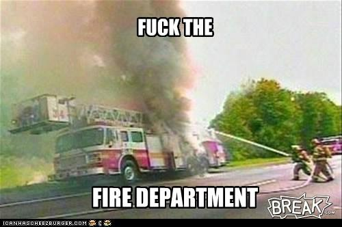 F the fire department