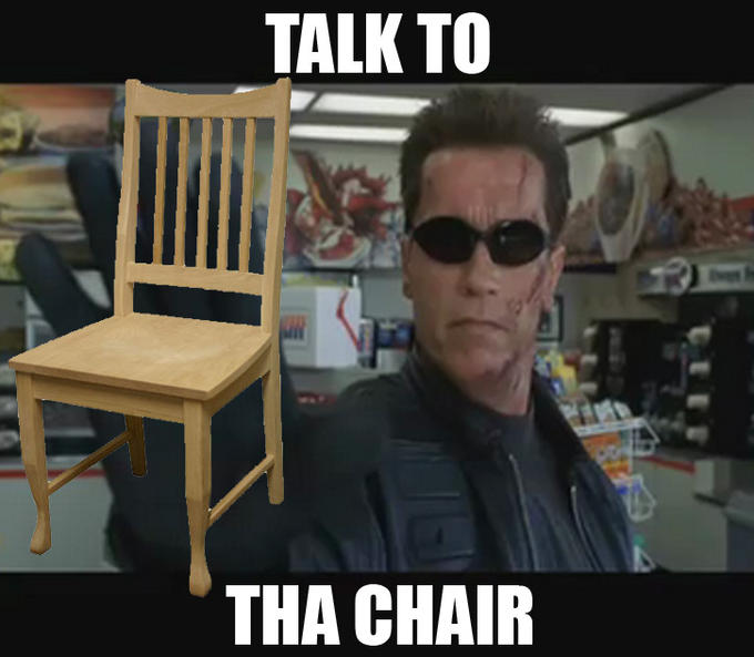 Talk to the Chair