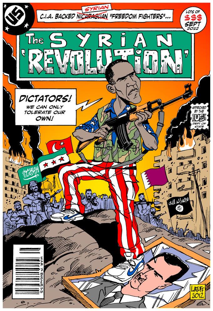 "The Syrian ""Revolution"""