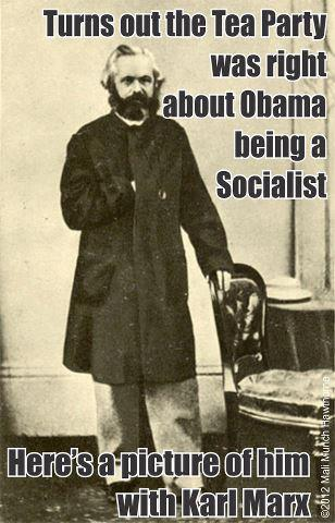 And now, proof that Obama is a socialist!