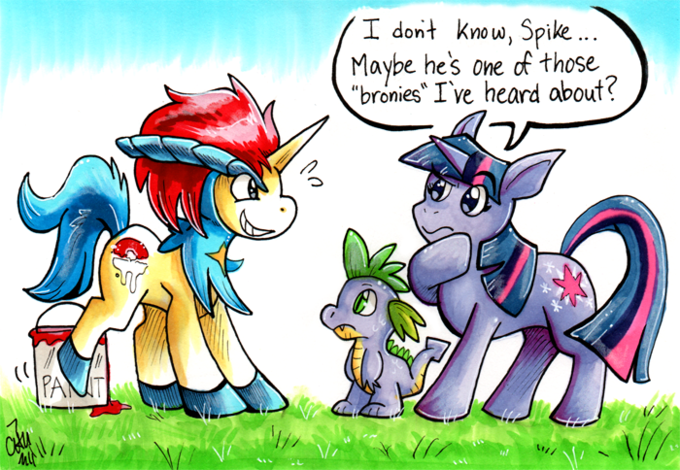 My Little Keldeo: Battling is Magic