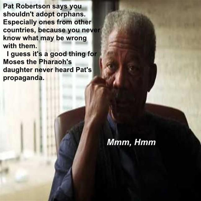Morgan Freeman Mmm,Hmm moment