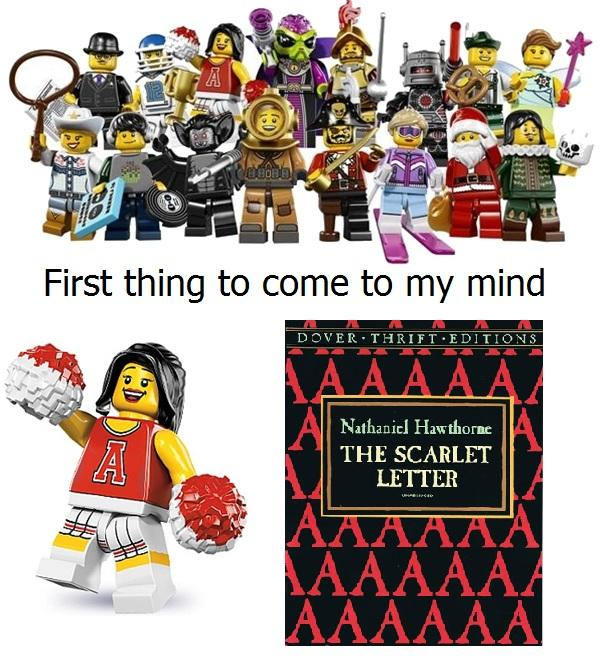 From the LEGO Collectible Minifigure Series 8