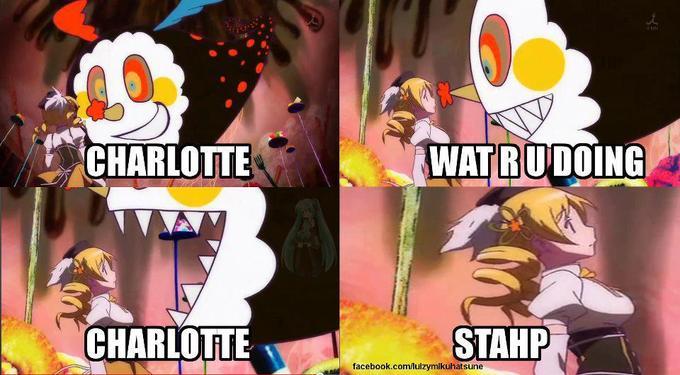 No Charlotte, no
