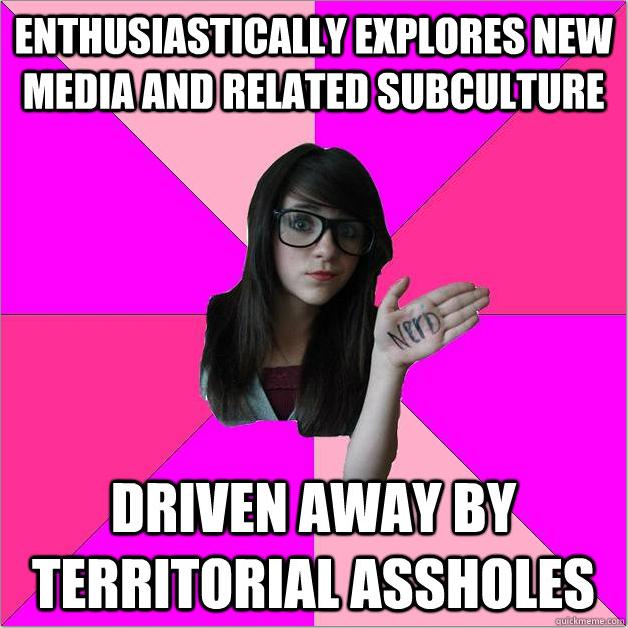 436 image 397280] idiot nerd girl know your meme,Girl Nerd Meme