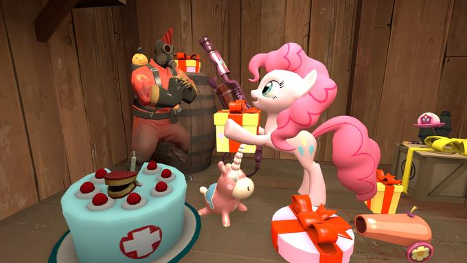 Pony Fortress 2: Pinkie Pie