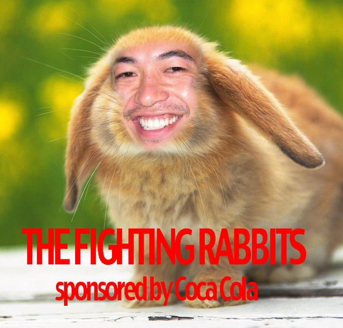 Team Fighting Rabbits logo (by UncleBibby)