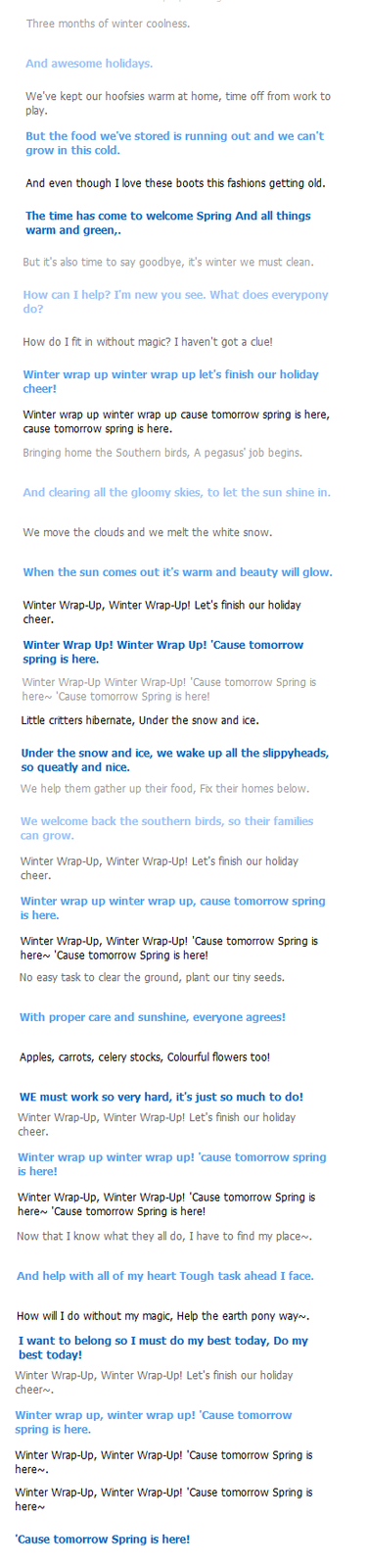 Cleverbot Sings Winter Wrap Up