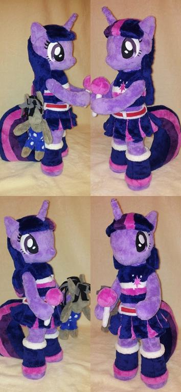 Lollipop Chainsaw Twilight Sparkle plush.
