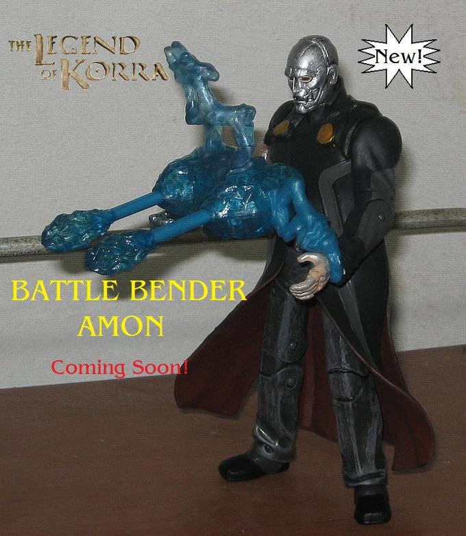 Leaked Toy Release info - Battle Bender Amon