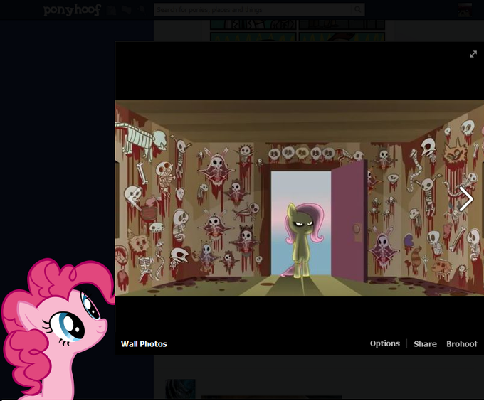 Why so happy Pinkie?