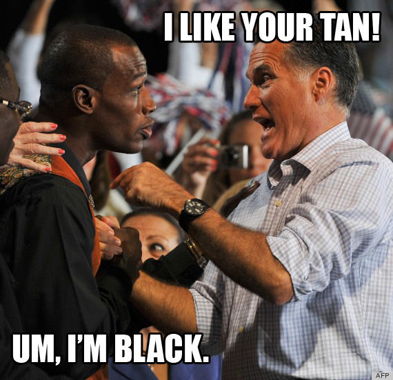 Mitt Romney On Black People