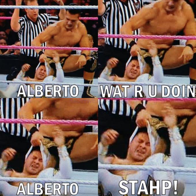 Alberto stahp!