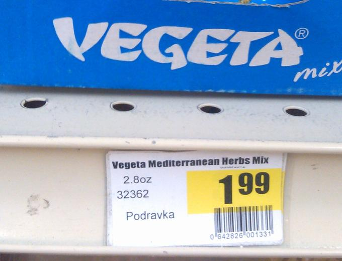 Vegeta mix...only $1.99? Shouldn't it be, Over 9000?