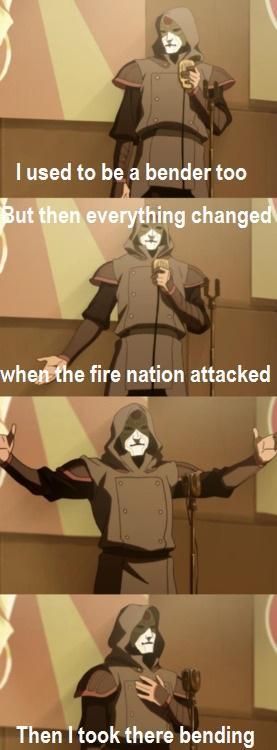 Amon joking