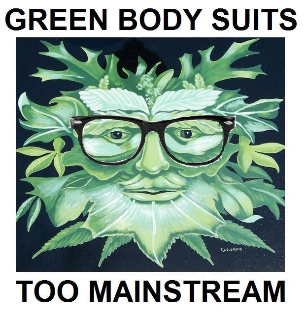 Hipster Green Man