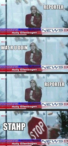 Stahp Reporting