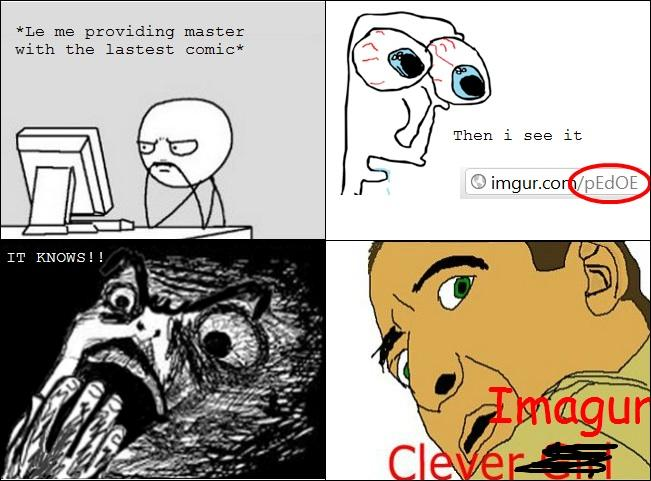 Clever girl rage comic 9