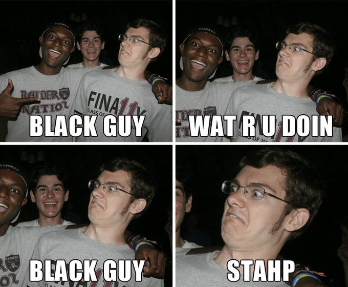 Happy Black Guy