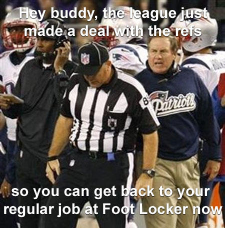 No more replacement refs