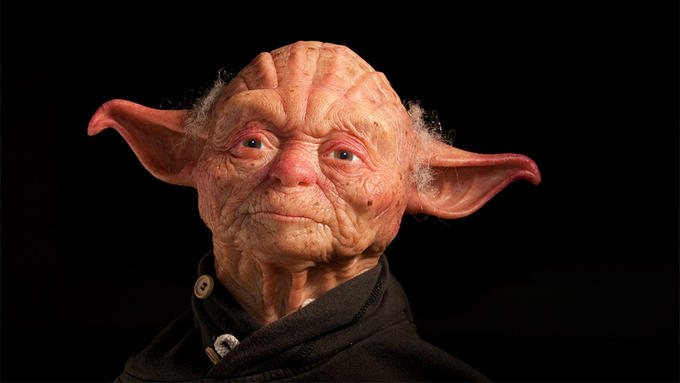 """Sculptors of a """"More Human"""" Yoda"""