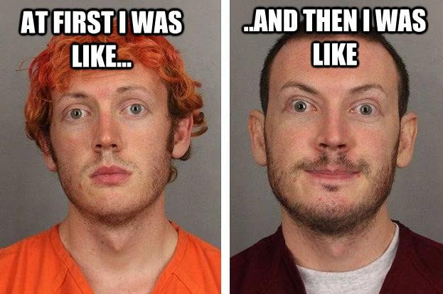 b36 james holmes image gallery know your meme,Holmes Meme