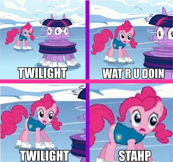 Stahp Spinning Twilight