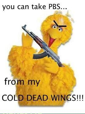 You Can Take PBS From My Cold, Dead Wings