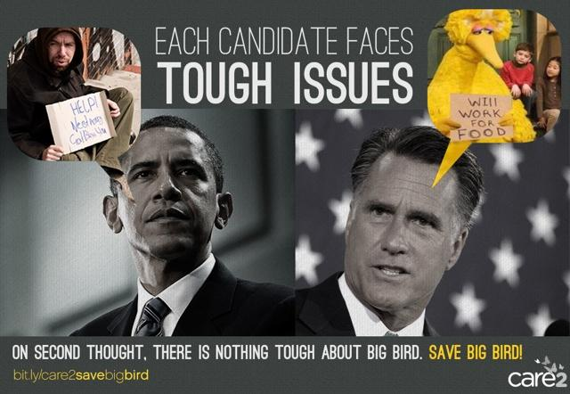 Tough Issues Big Bird