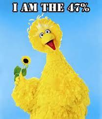 Big Bird is the 47%
