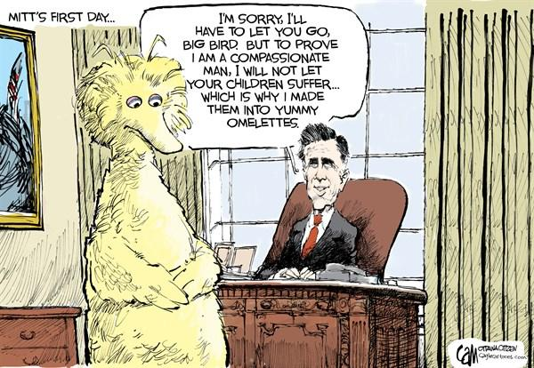 Mitt's First Day