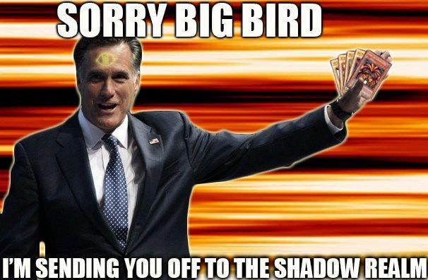 Sorry Big Bird, I'm Sending You Off to the Shadow Realm