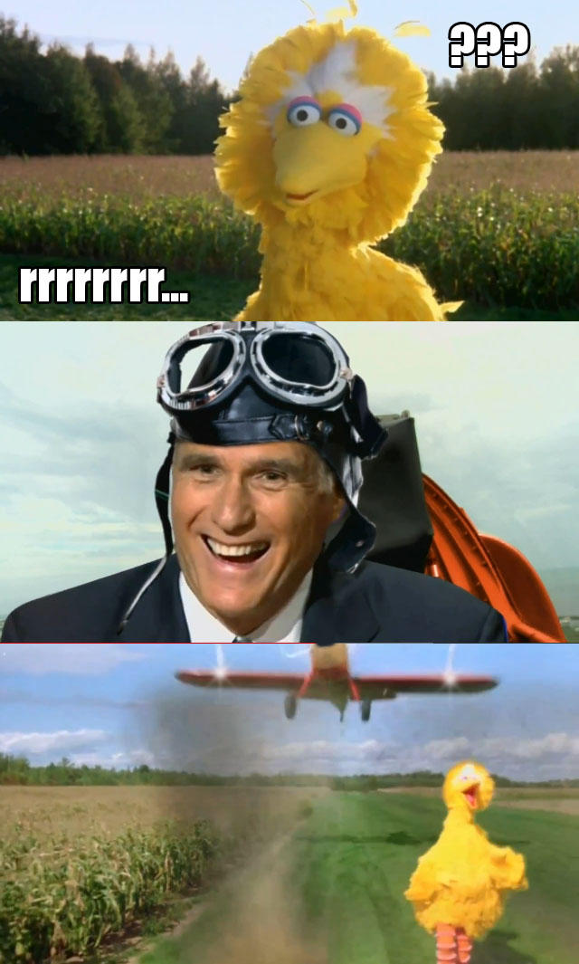 Mitt Romney Hates Big Bird