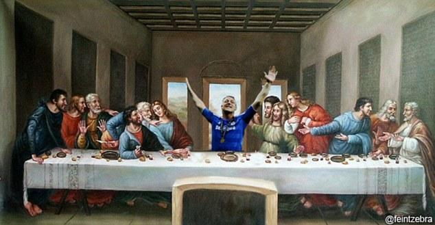 John Terry Last Supper