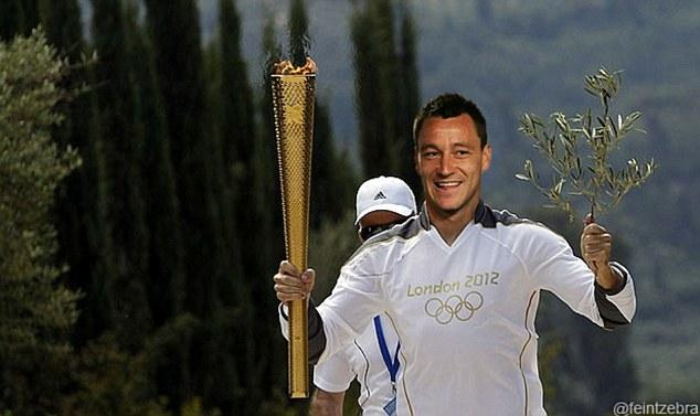 John Terry Olympic Torch