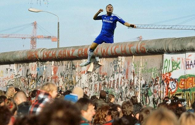 John Terry Berlin Wall