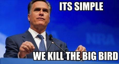 Its simple- we kill the big bird
